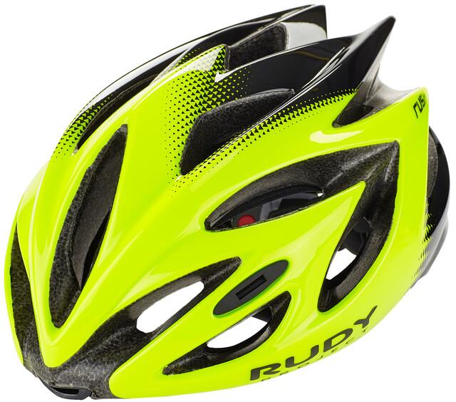 Bike Helmet Rudy Project Rush Black Titanium Shiny