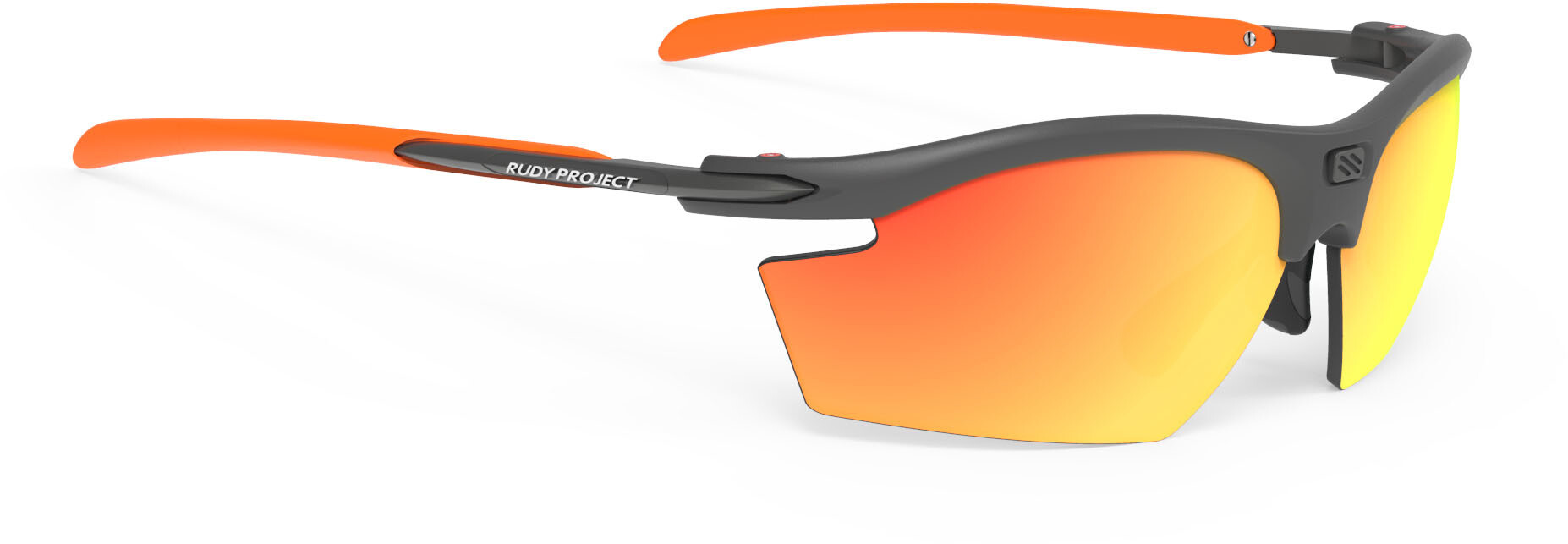 Rudy Project Rydon Cykelbriller, graphite - polar 3fx hdr multilaser orange | Briller