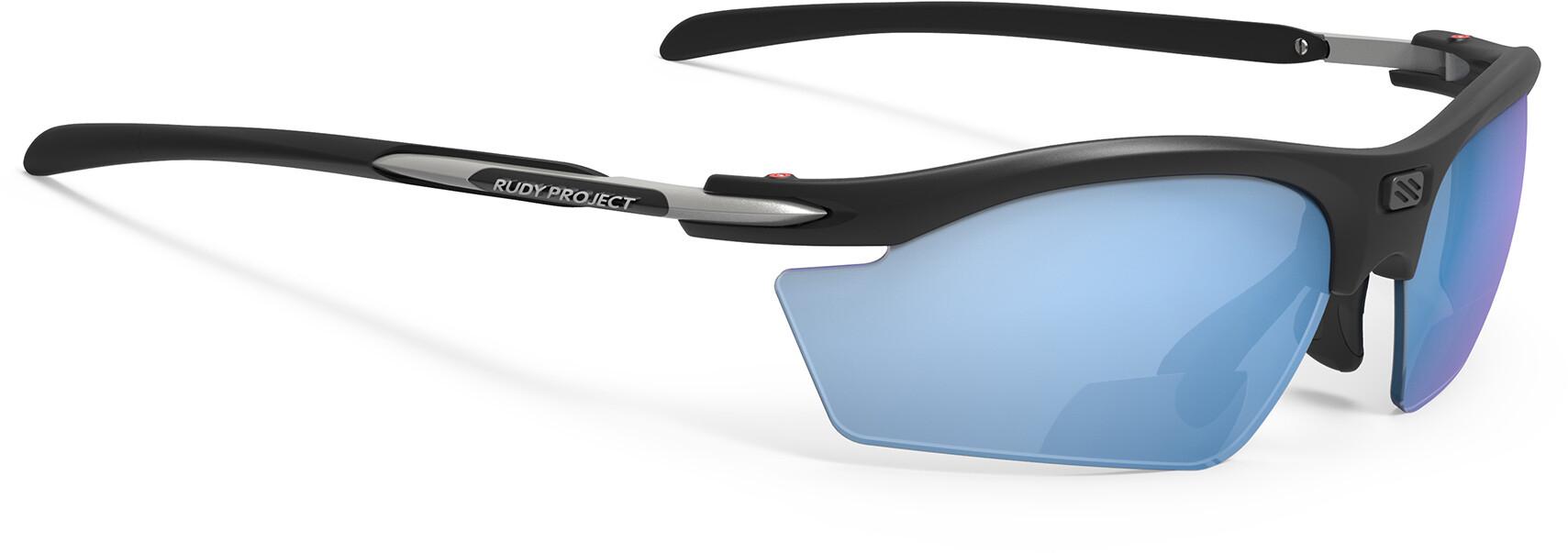 Rudy Project Rydon Readers +2.0 dpt Cykelbriller, matte black / multilaser ice | Briller