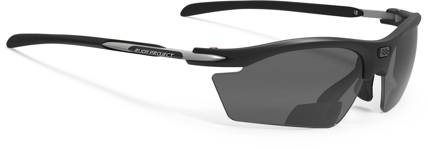 Rudy Project Rydon Readers +2.0 dpt Cykelbriller, matte black / smoke black | Briller