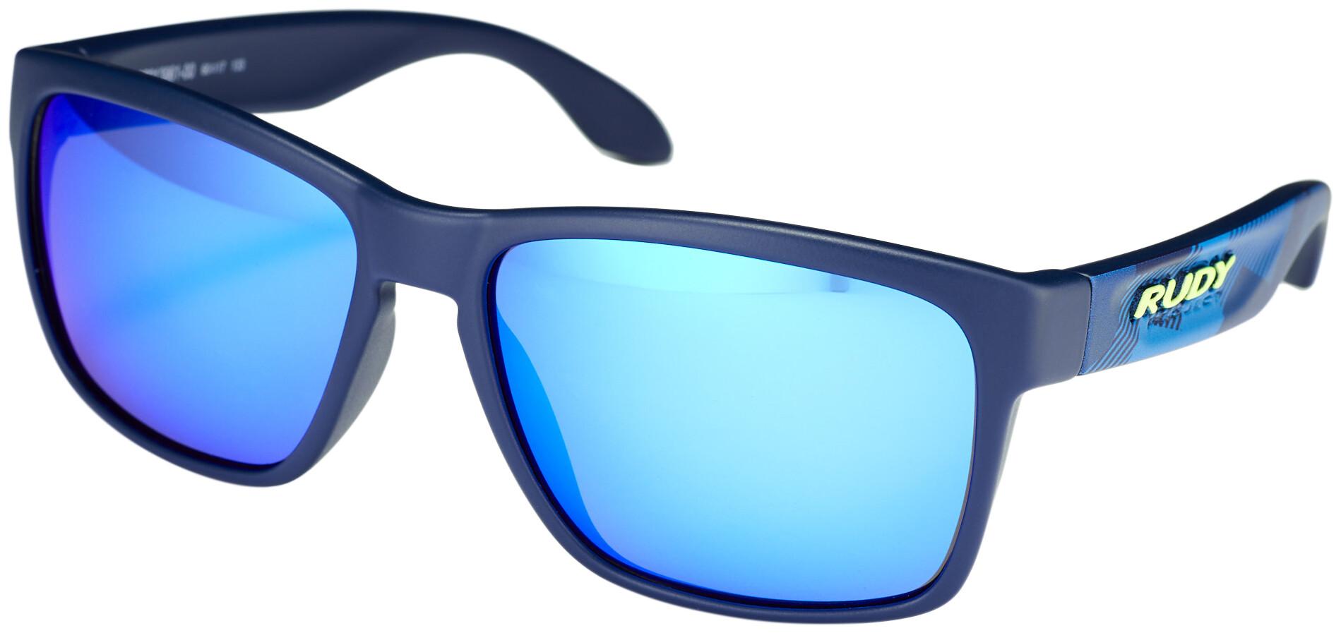 Rudy Project Spinhawk Cykelbriller, neo camo blue - rp optics multilaser blue (2020) | Glasses