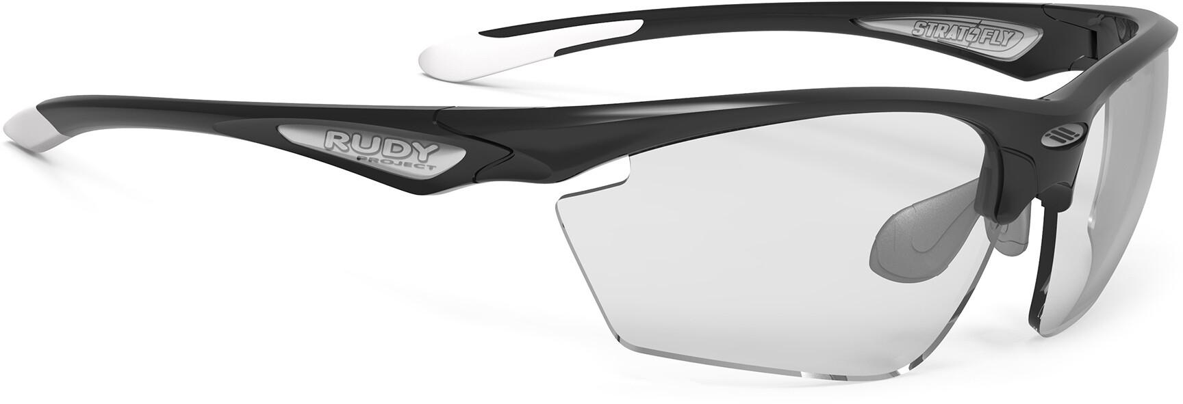 Rudy Project Stratofly Cykelbriller, black gloss - impactx photochromic 2 black | Briller