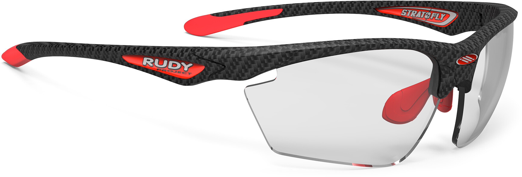 Rudy Project Stratofly Cykelbriller, carbonium - impactx photochromic 2 black | Briller