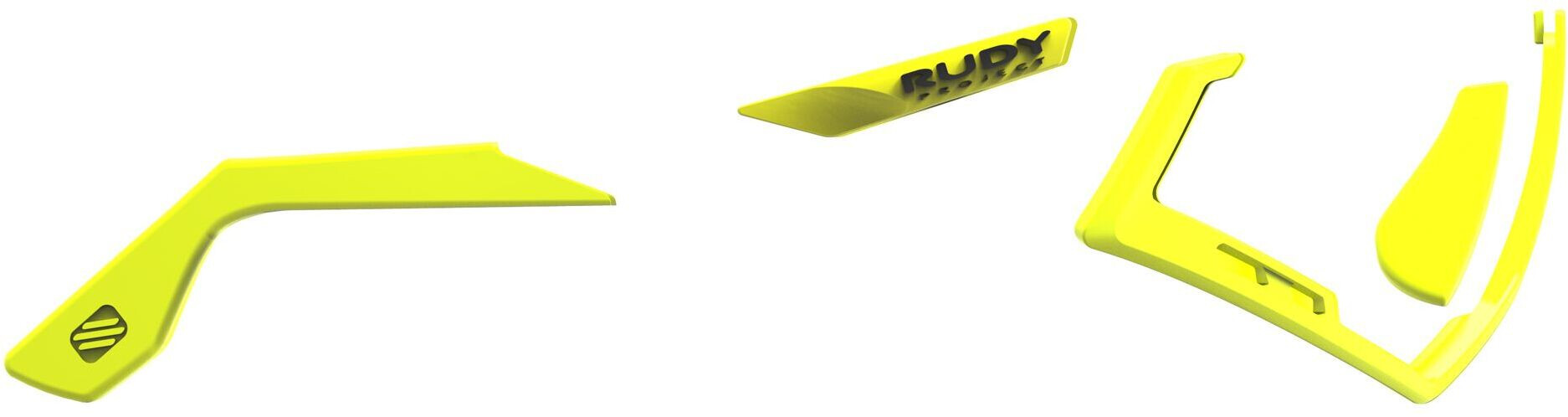 Rudy Project Tralyx Chromatic Full Custom Kit, yellow fluo / black emblems (2020) | glasses_other_clothes