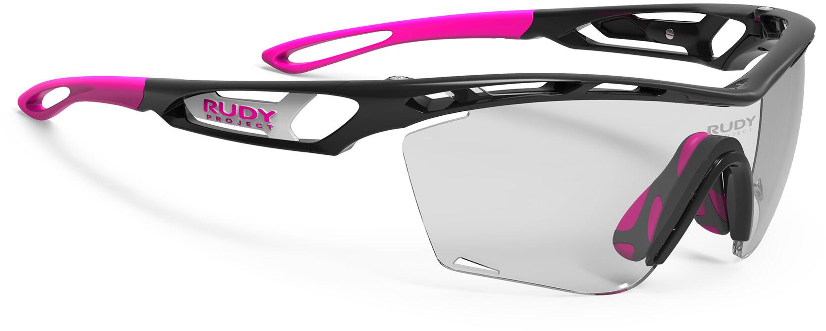 Rudy Project Tralyx Slim Cykelbriller, black gloss - impactx photochromic 2 black (2020) | Glasses