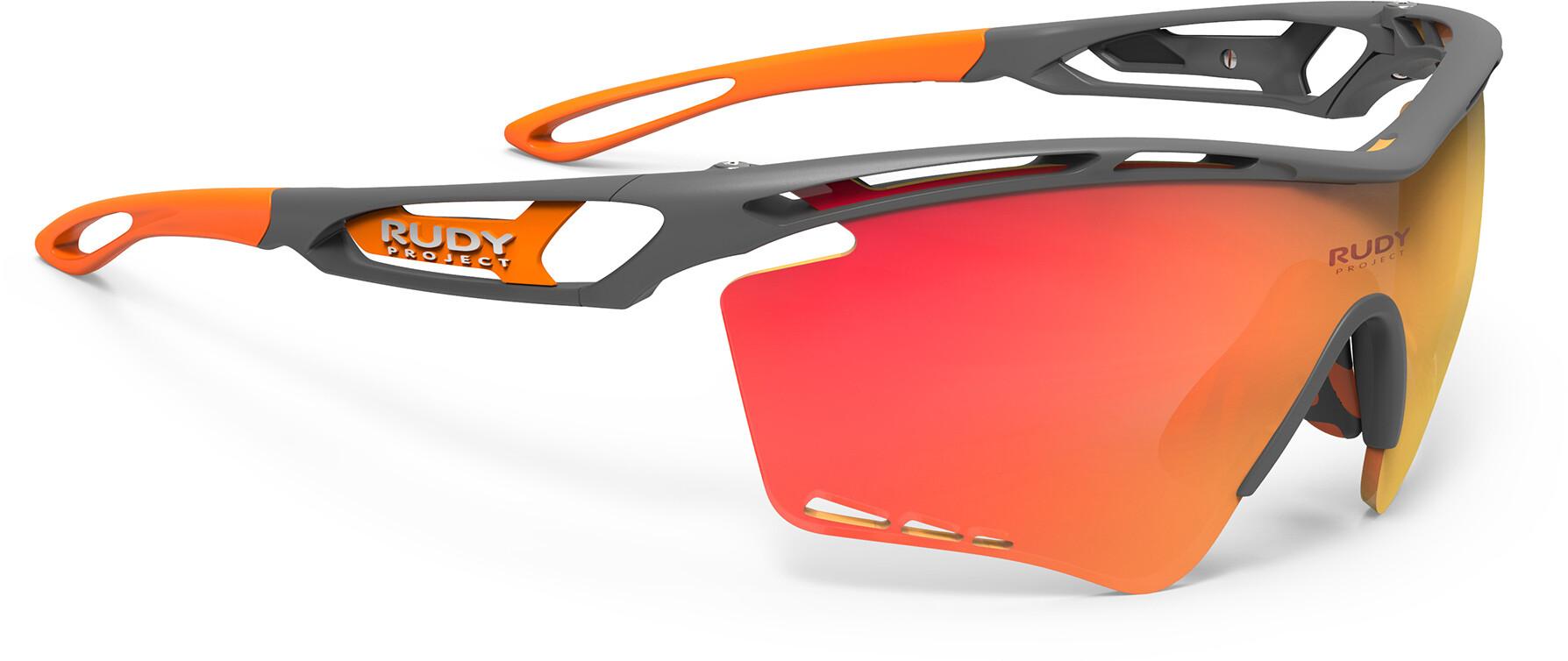 Rudy Project Tralyx XL Cykelbriller, pyombo matte - rp optics multilaser orange (2020) | Glasses