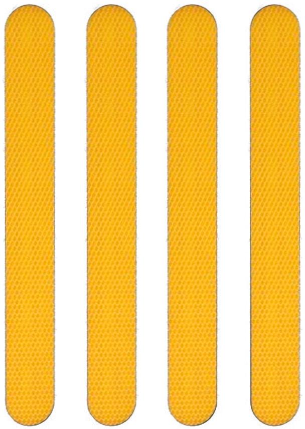 Moto Reflekterende klistermærke, orange (2019)   Reflectives
