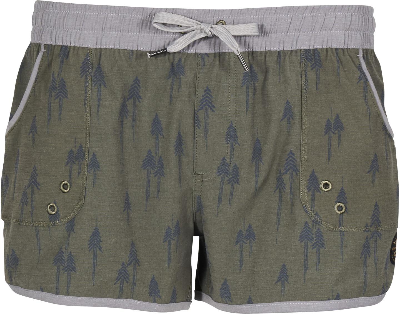 United By Blue Painted Pines Bukser korte Damer, olive | Tri-beklædning