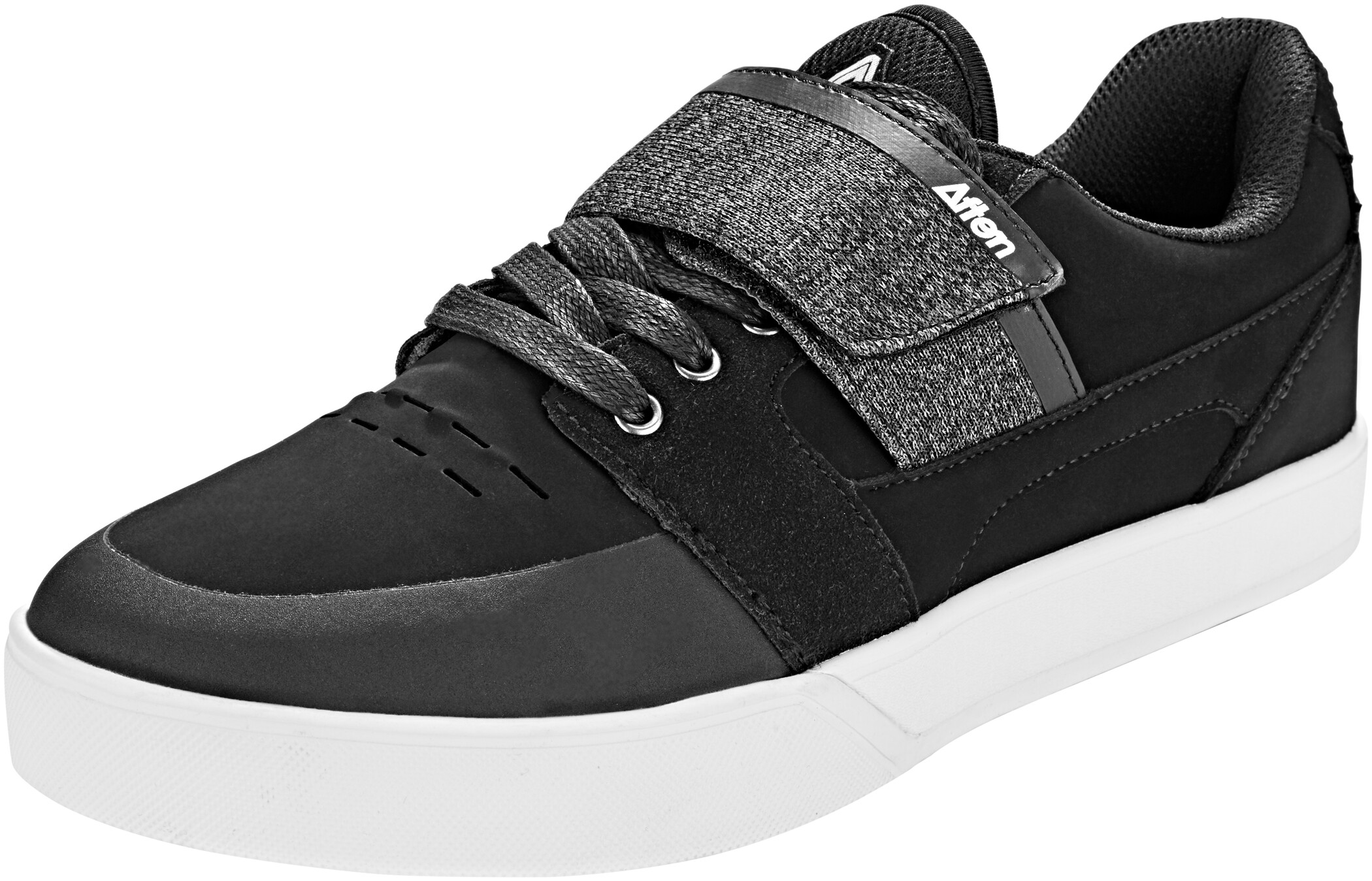 Afton Shoes Vectal Clipless Shoes Men, black/heathered (2019) | Sko