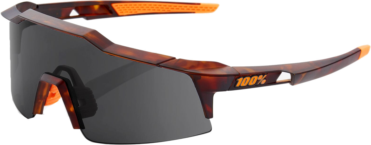 100% Speedcraft Smoke Cykelbriller small, matte dark havana (2019) | Glasses
