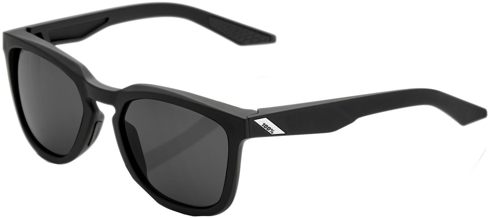100% Hudson Smoke Cykelbriller, soft tact black | Briller
