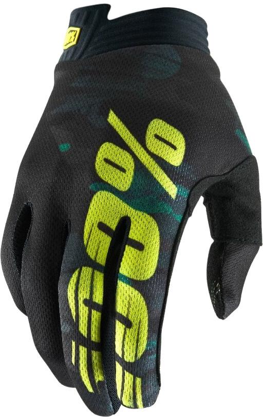 100% iTrack Cykelhandsker Børn, blue/navy | Gloves