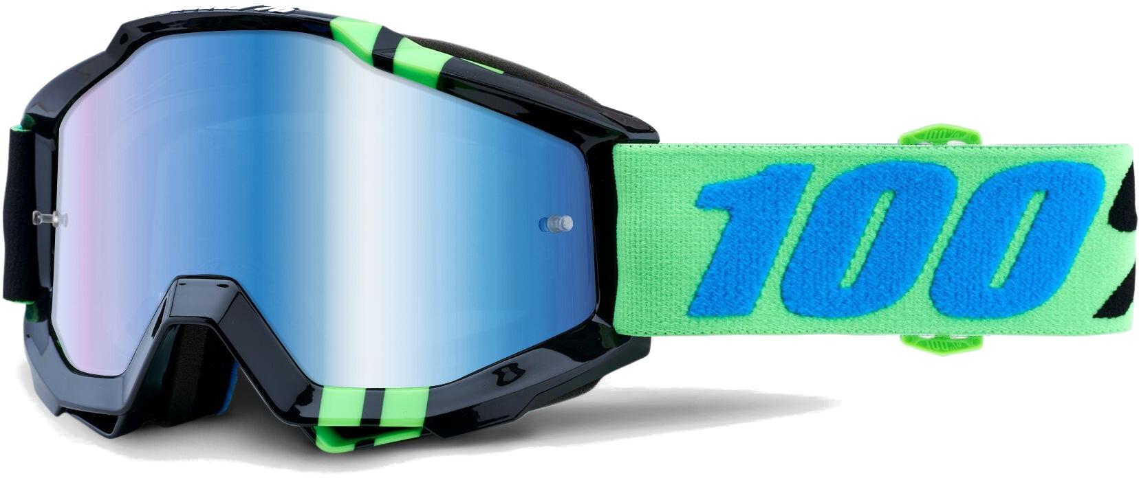 100% Accuri Anti Fog Mirror Goggles, zerg (2019) | Glasses