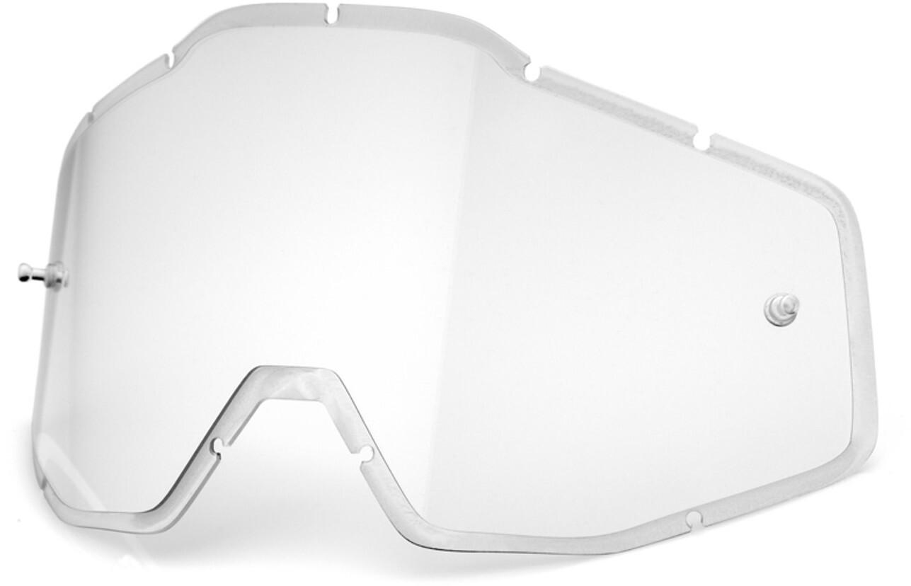 100% Anti-Fog F. Injicerede linser Racecraft/Accuri/Strata, clear | Briller > Tilbehør