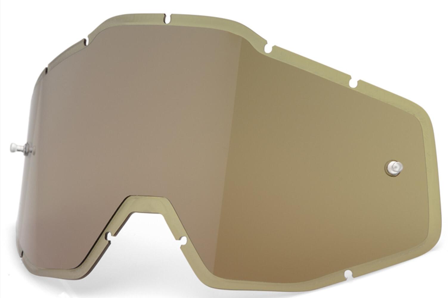 100% Injected HD Anti-Fog F. Injicerede linser Racecraft/Accuri/Strata, olive | Briller > Tilbehør