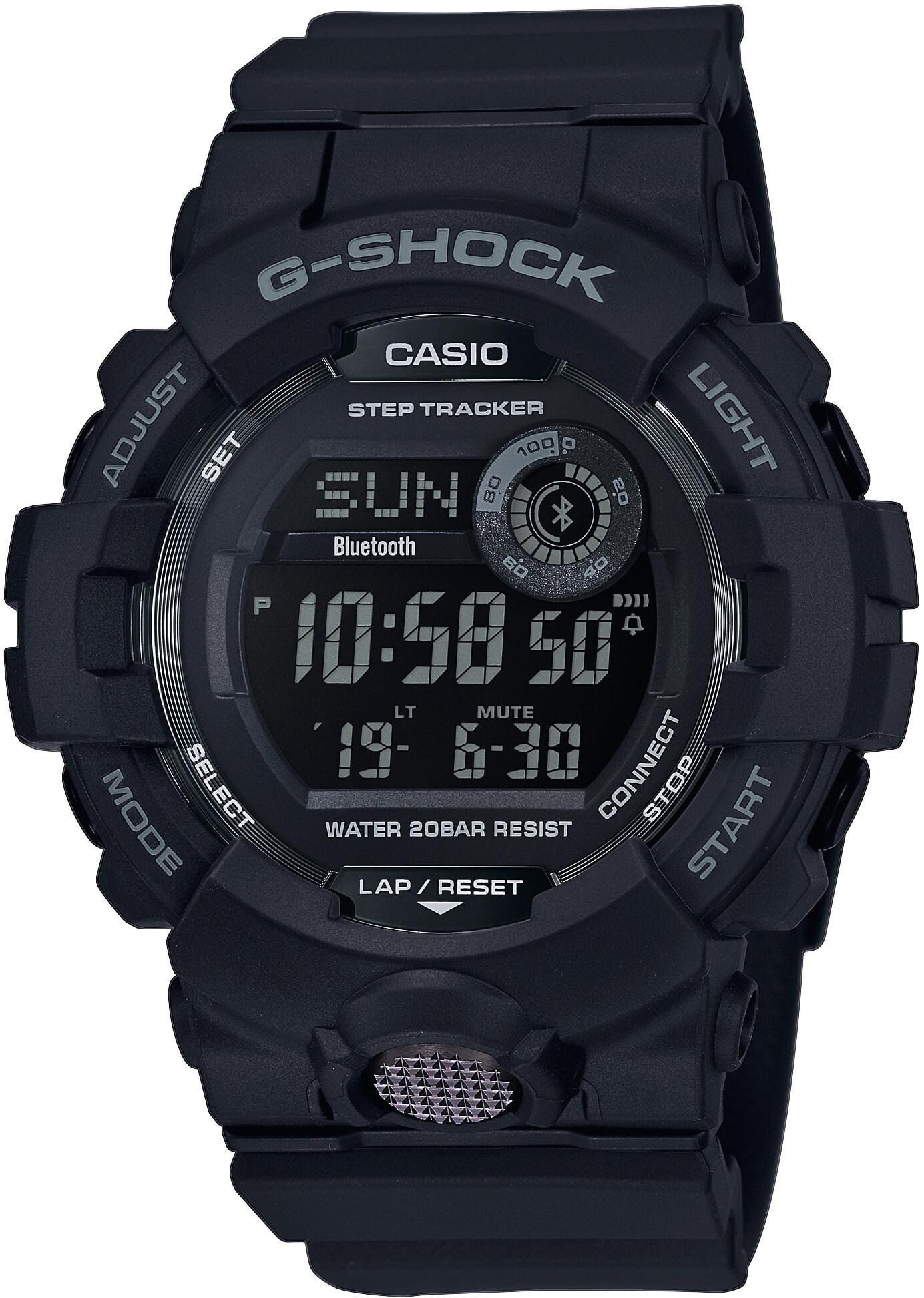 CASIO G-SHOCK GBD-800-1BER Ur Herrer, black/black/black (2019)   Sports watches