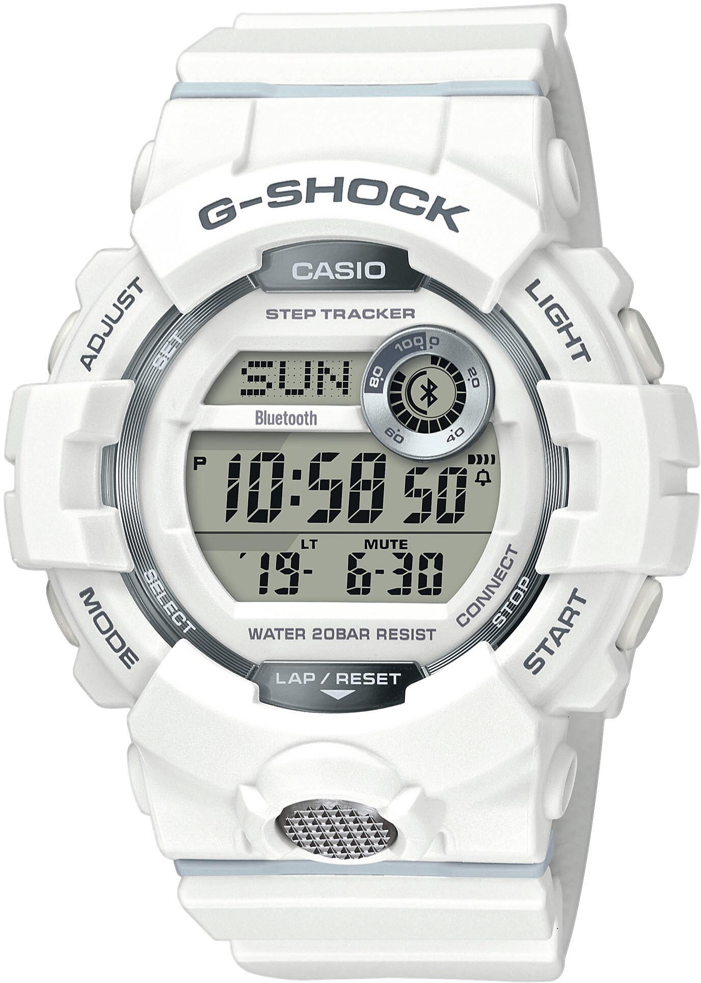 CASIO G-SHOCK GBD-800-7ER Ur Herrer, white/white/grey (2019)   Sports watches