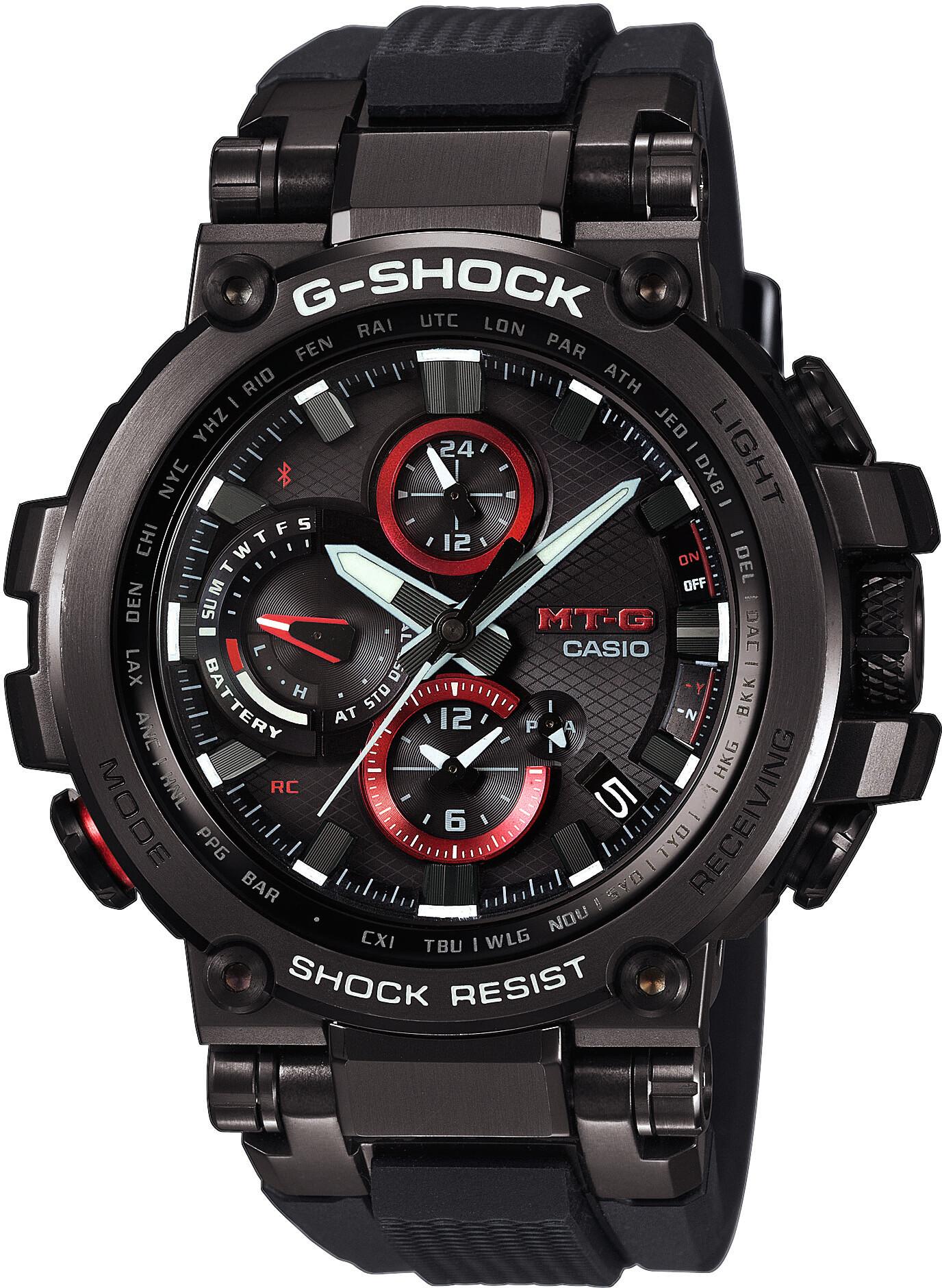 CASIO G-SHOCK MTG-B1000B-1AER Ur Herrer, black/black/black (2019)   Sports watches