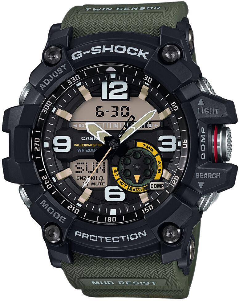 CASIO G-SHOCK GG-1000-1A3ER Ur Herrer, green/black/grey (2019)   Sports watches
