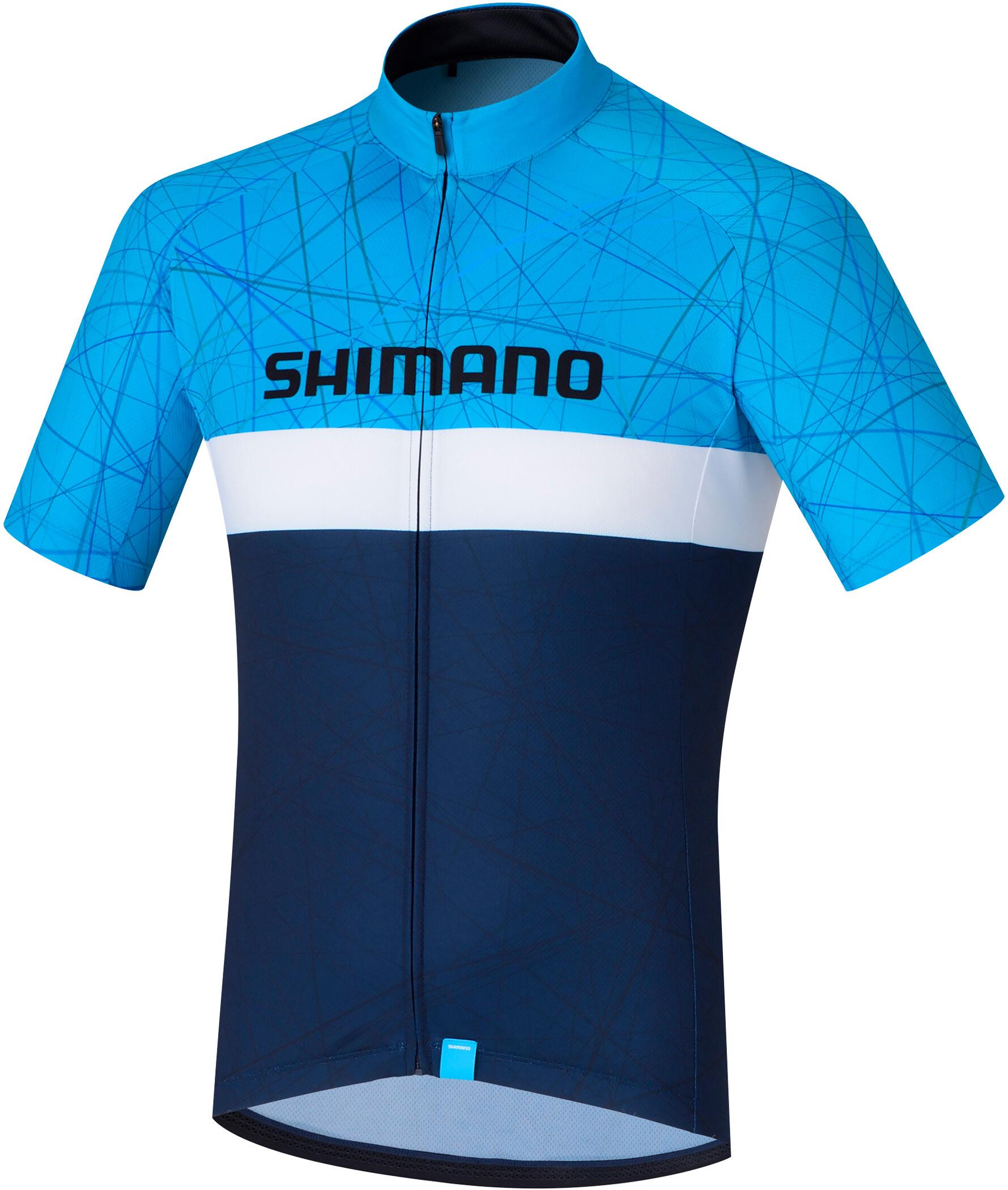Shimano Team Kortærmet cykeltrøje Herrer, navy (2019) | Jerseys
