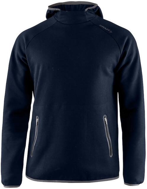 Camping & Outdoor Craft Emotion Hood Sweatshirt Men dark navy 2019 Midlayer blau