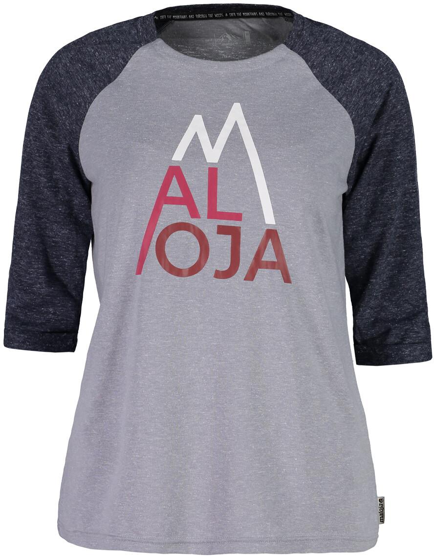 Maloja LüsaiM. Kortærmet T-shirt Damer, grey melange (2019) | Jerseys