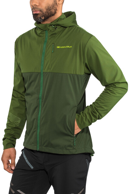 Medium G-III Mens Energy Soft Shell Full Zip Jacket Green