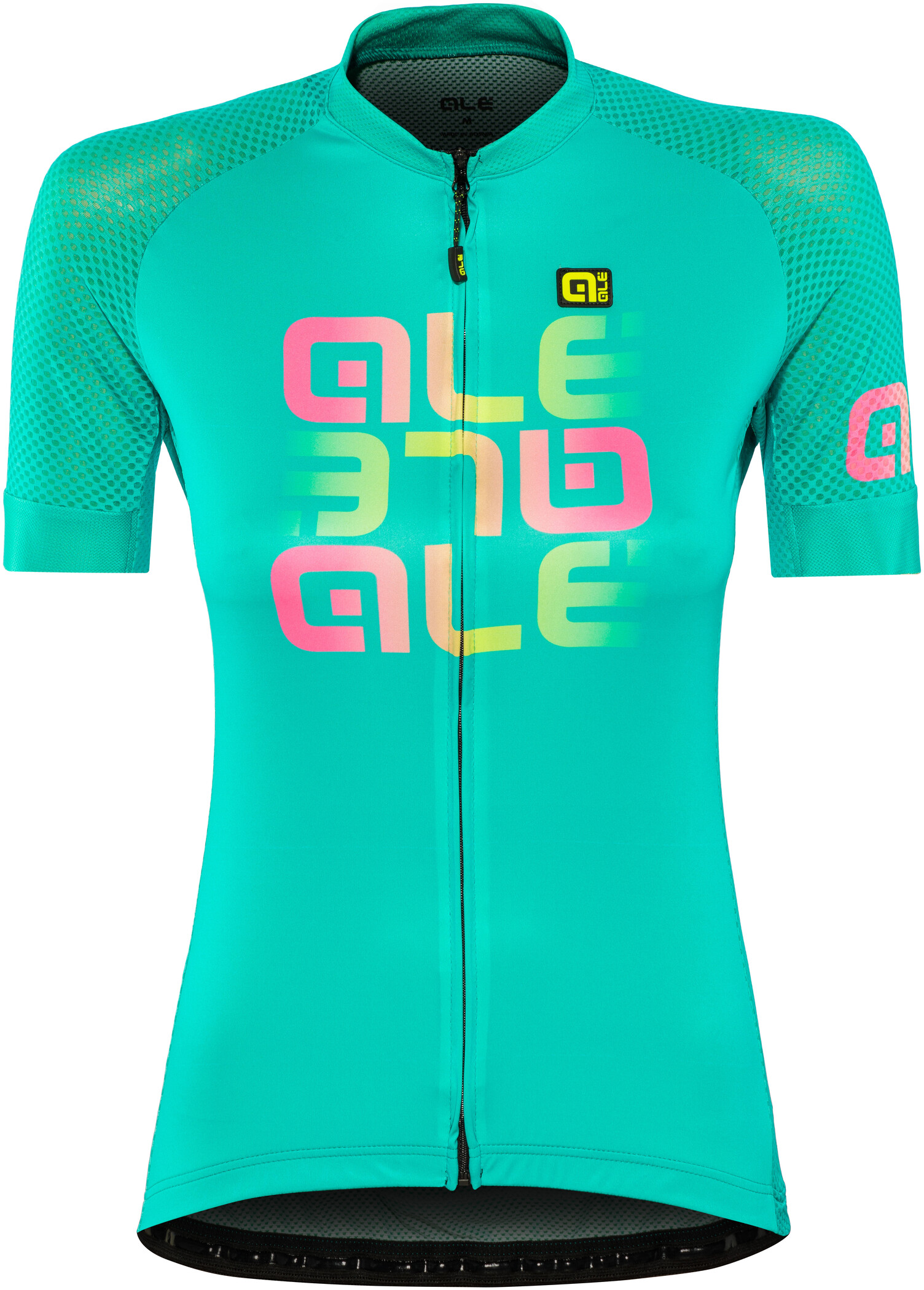 Alé Cycling Solid Mirror Cykeltrøje Damer, green (2019) | Jerseys
