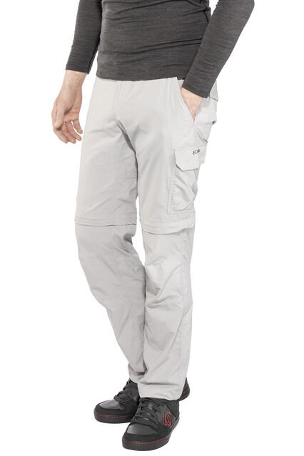 Gris Columbia Silver Ridge II Pantalones de Senderismo Convertible W36//L32 Hombre Grill