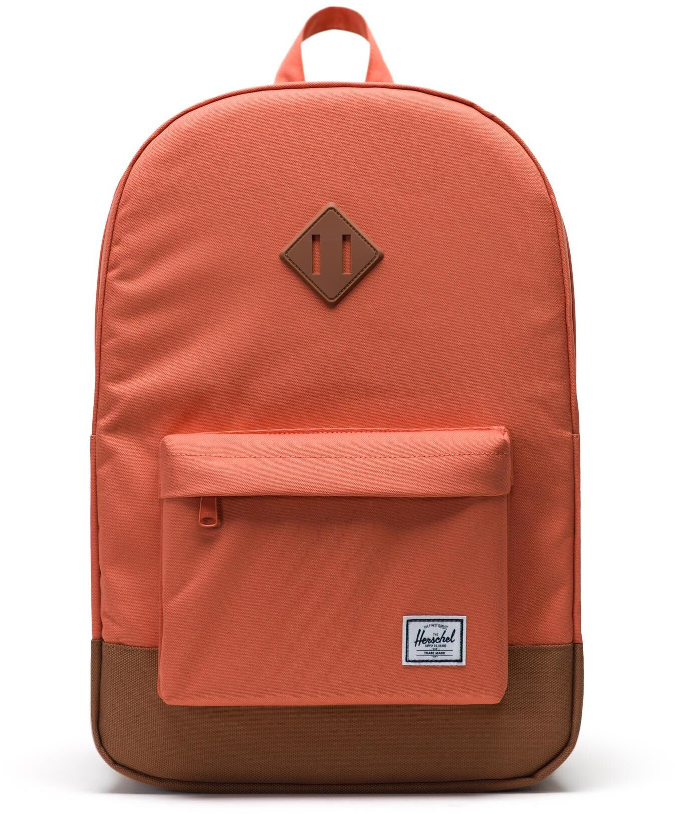 Herschel Heritage Rygsæk, apricot brandy/saddle brown (2019) | Travel bags