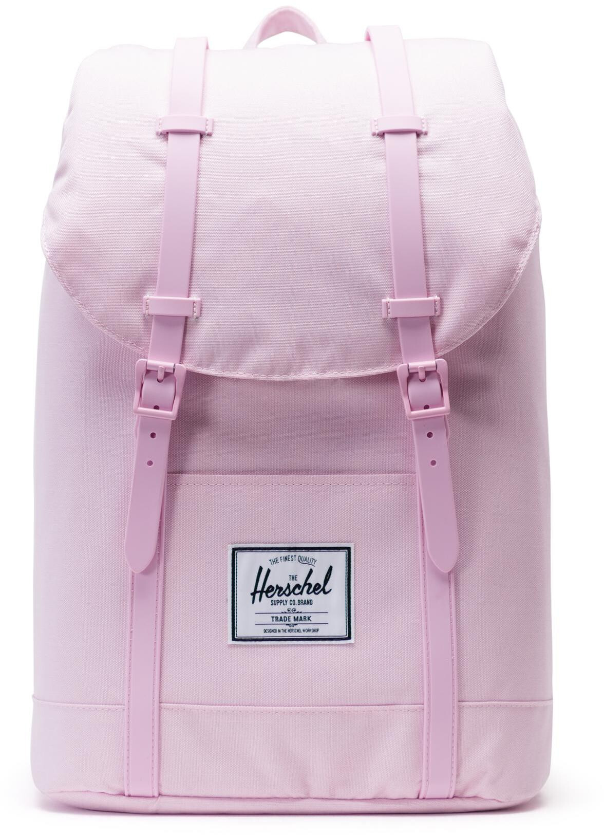 Herschel Retreat Rygsæk 19,5l, pink lady crosshatch (2019) | Travel bags