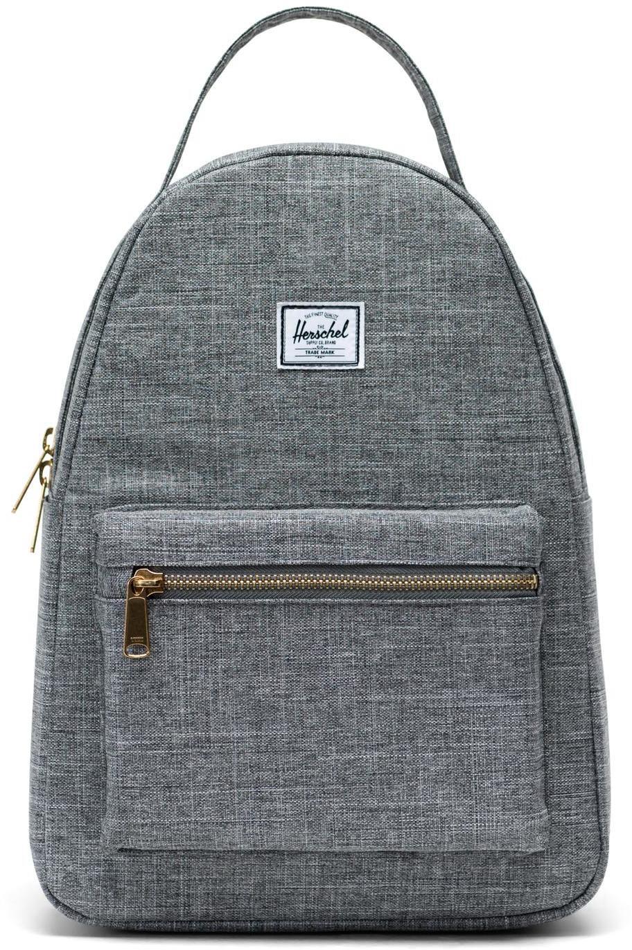 Herschel Nova Small Backpack 17L, raven crosshatch (2019)   Rygsæk og rejsetasker