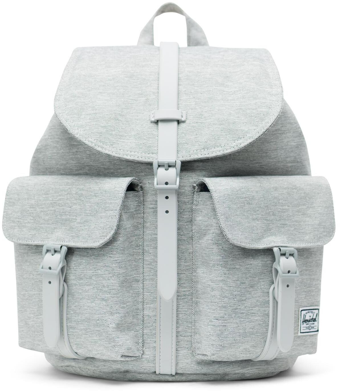 Herschel Dawson Small Rygsæk, light grey crosshatch (2019) | Travel bags