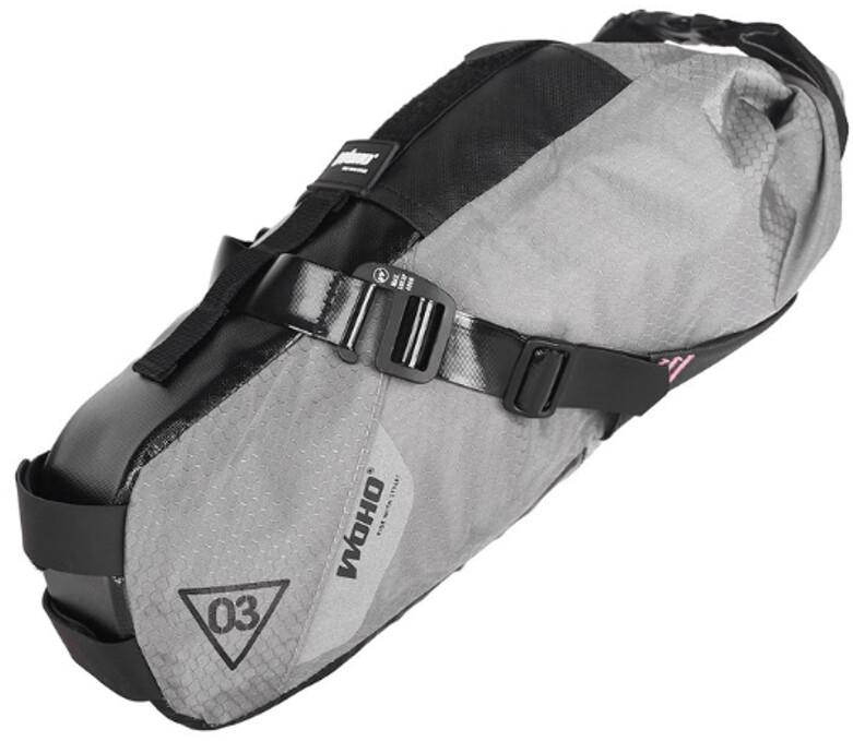 WOHO X-Touring Sadeltaske S, honeycomb iron grey | Sadeltasker
