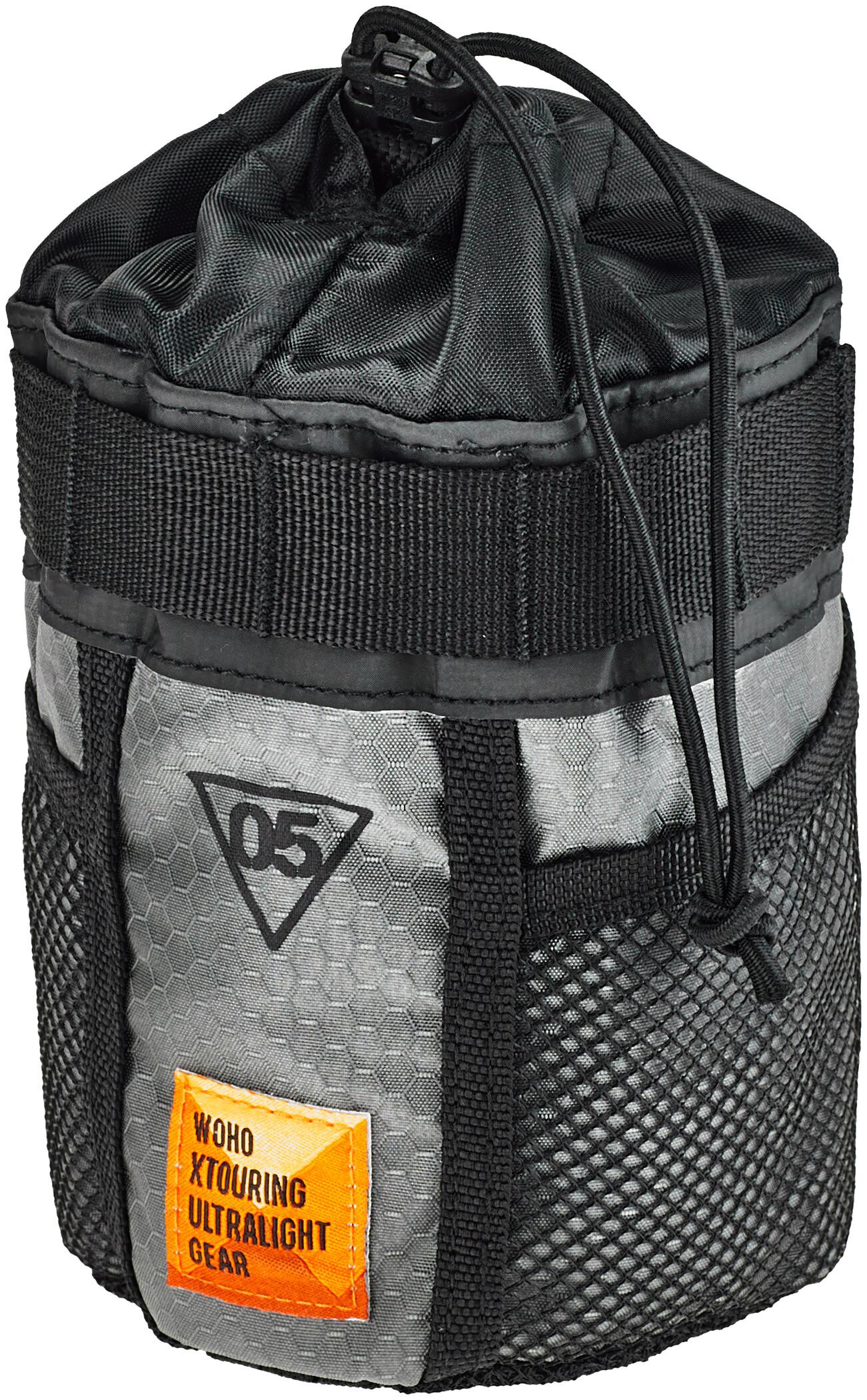 WOHO X-Touring Flaskeholder, honeycomb iron grey | Flaskeholdere