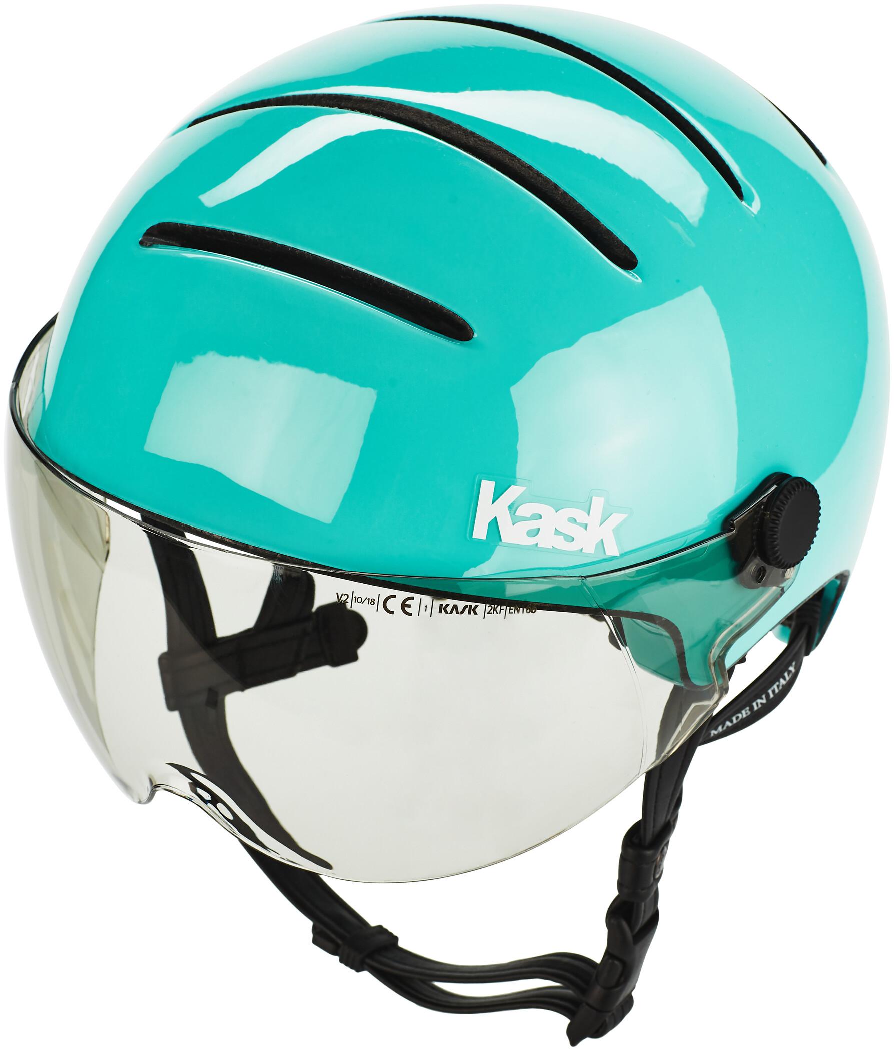 Kask Lifestyle Cykelhjelm inkl. visir, light blue (2019) | Hjelme