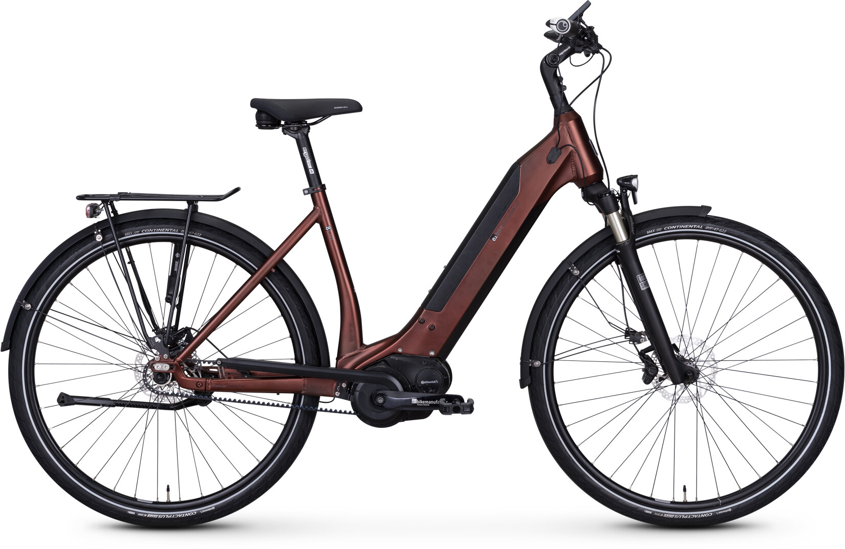 e-bike manufaktur 8CHT Wave 48er Revolution Disc Gates, kupfer matt (2019) | City