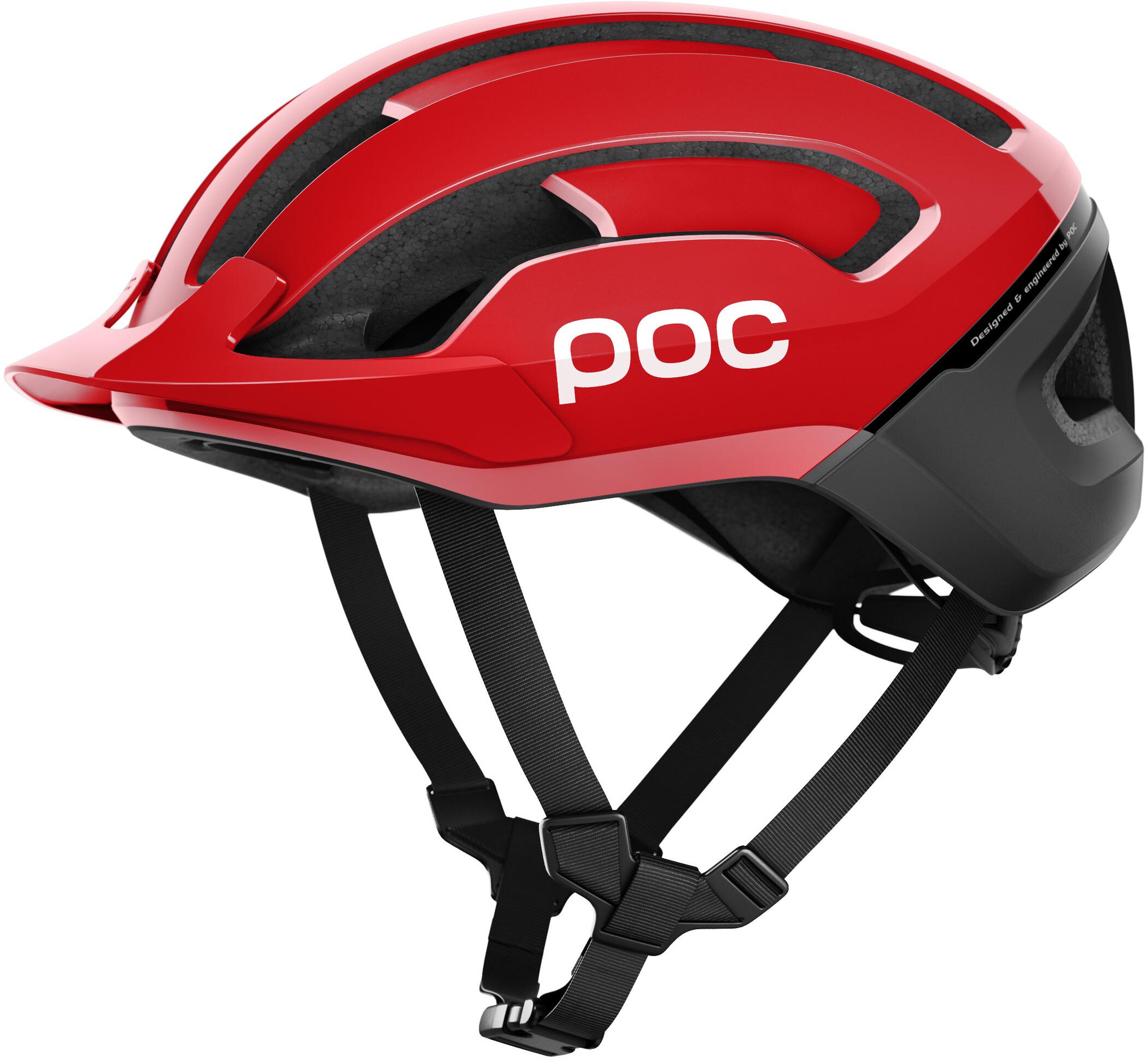 POC Omne Air Resistance Spin Cykelhjelm, prismane red (2019) | Helmets