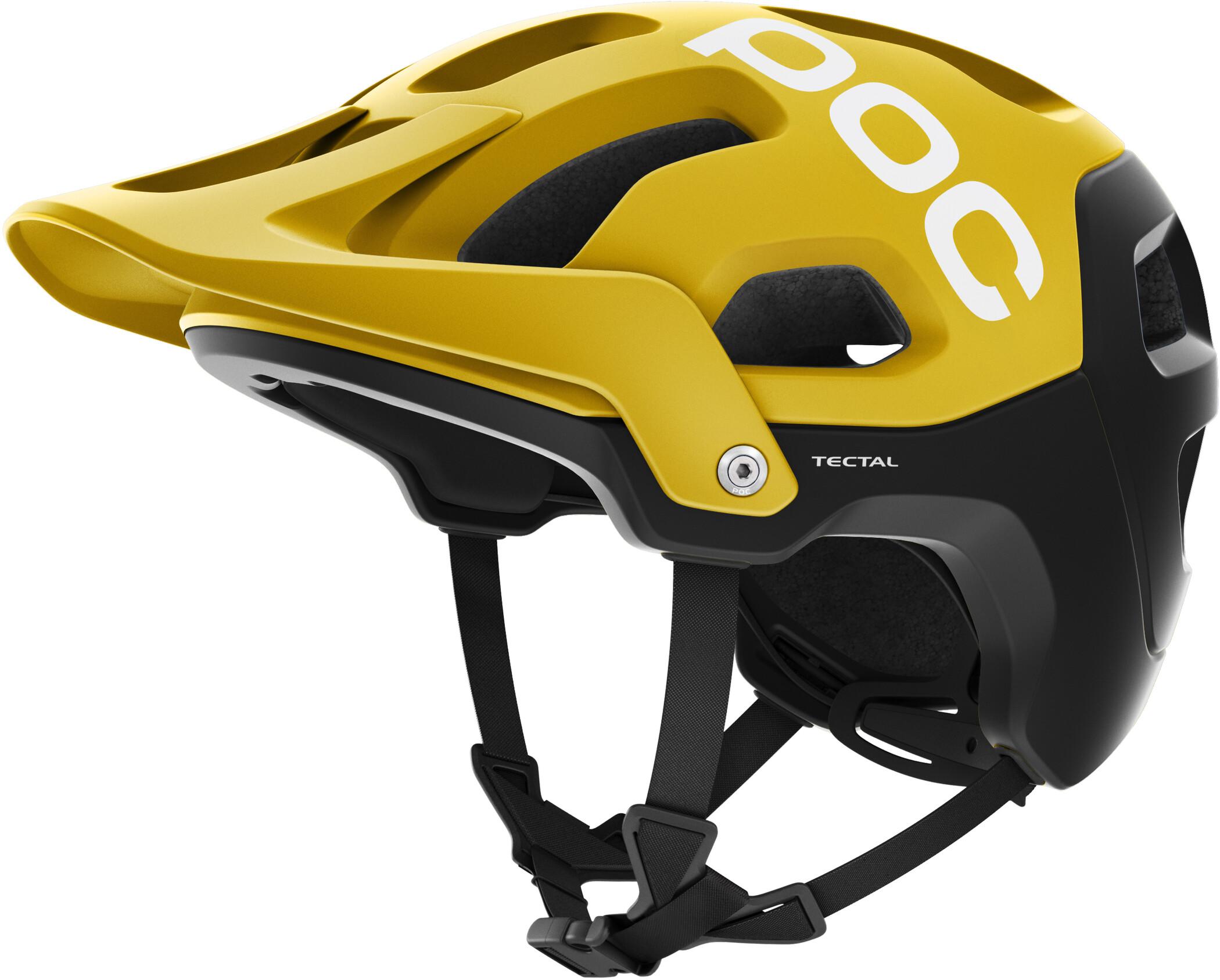 POC Tectal Cykelhjelm, sulphite yellow   Helmets