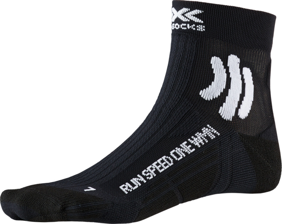 X-Socks Run Speed One Strømper Damer, opal black (2019) | Kompressionstøj
