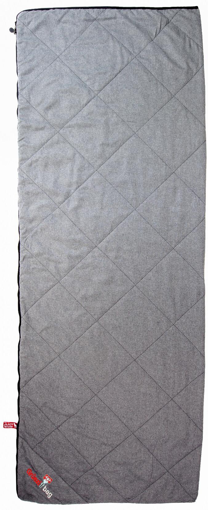 Grüezi-Bag WellhealthBlanket Wool Sovepose, grey melange | Transport og opbevaring > Tilbehør