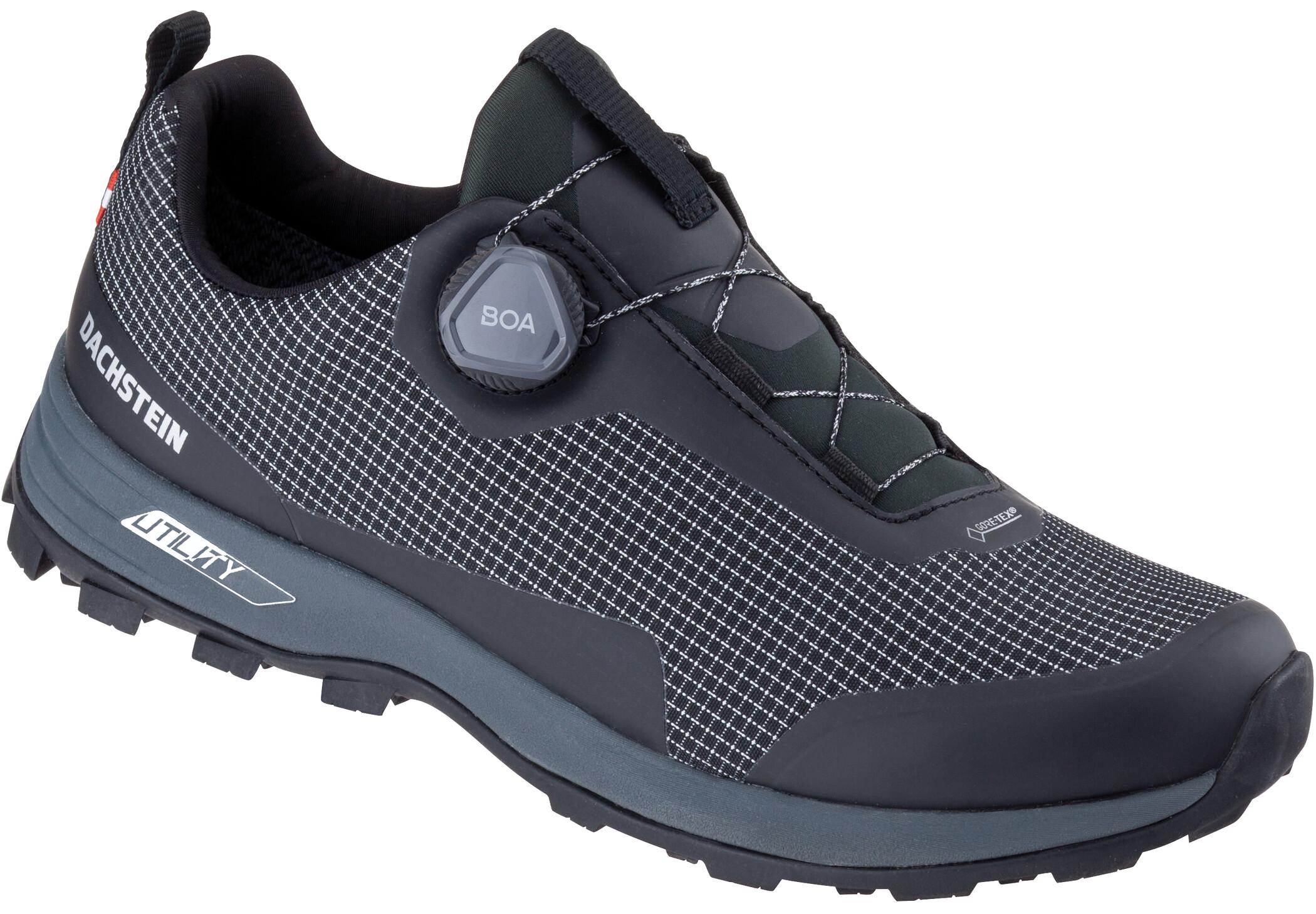 Dachstein Alpha Boa Lc Gtx Trekking Shoes Men Pirate Black Black At Addnature Co Uk