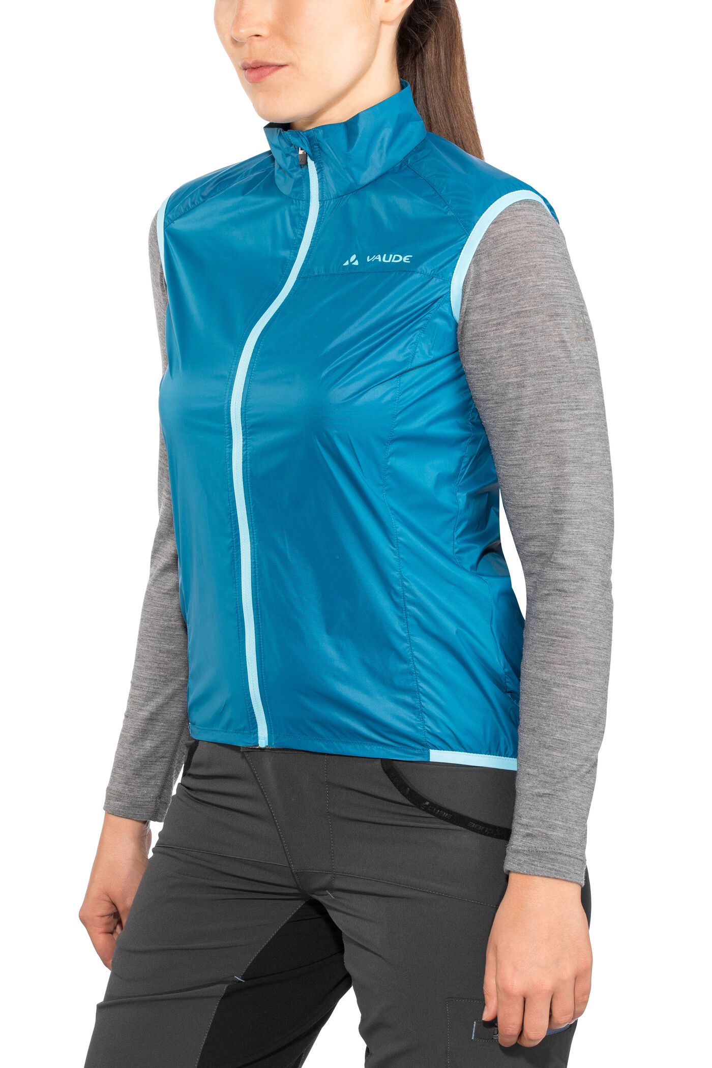 VAUDE Air III Vest Damer, kingfisher (2019) | Vests