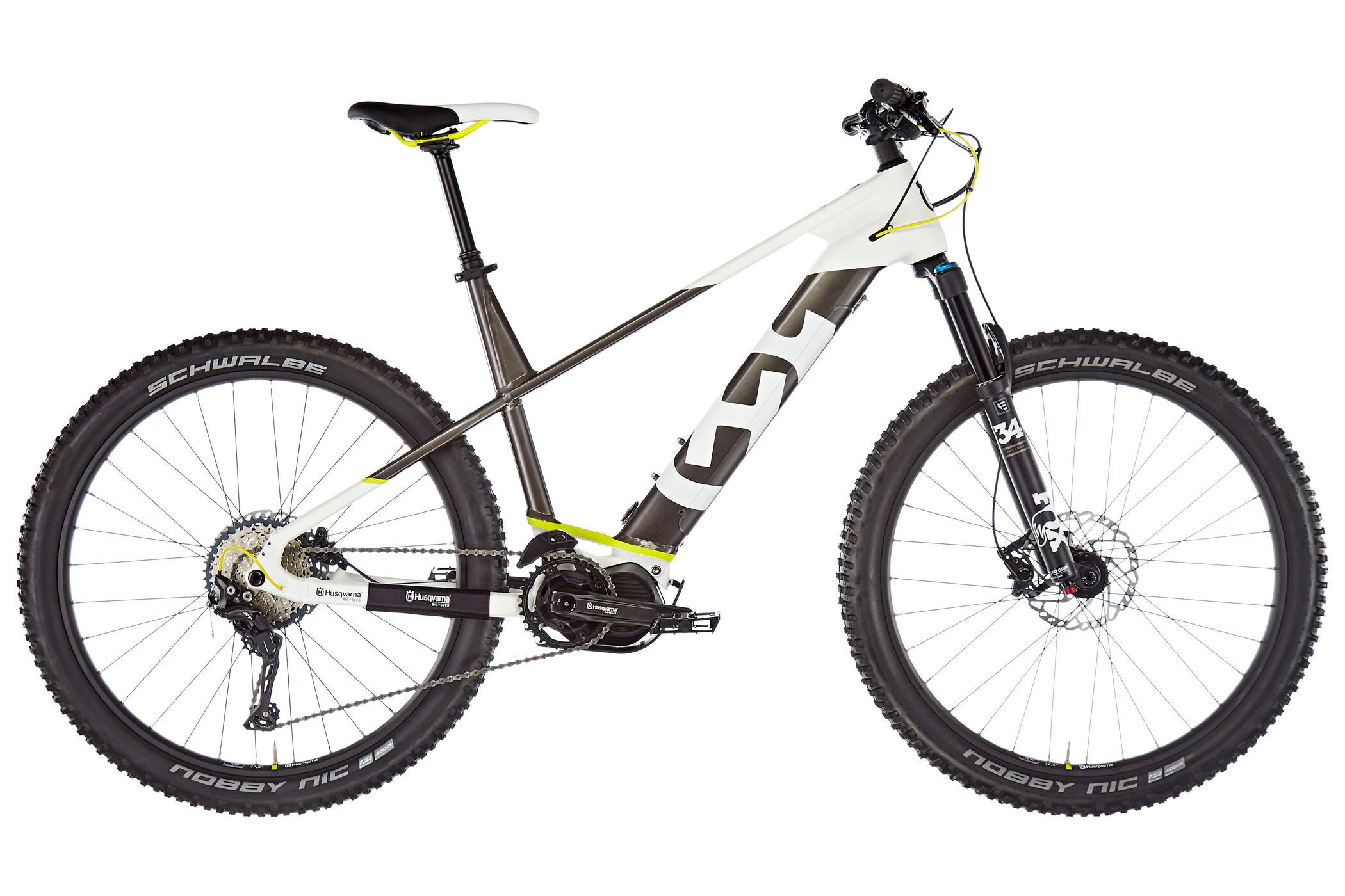 "Husqvarna LC6 27,5"", white/bronze metallic/neon yellow 