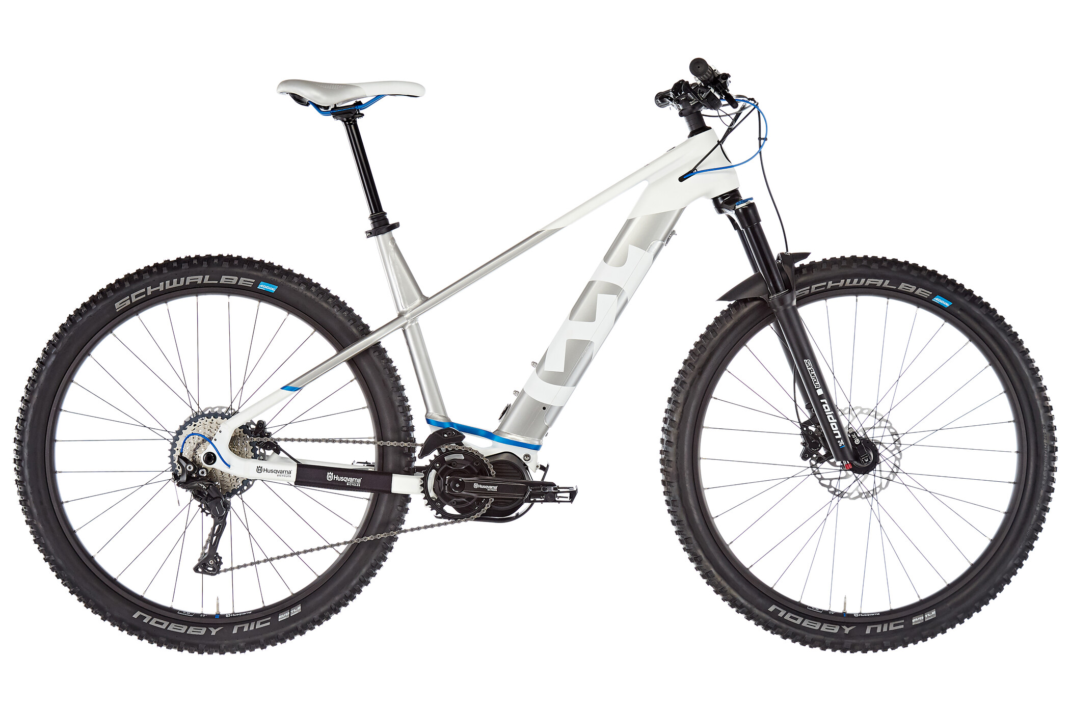 Husqvarna LC5 29 inches, cold white metallic/silver metallic/steelblue | Mountainbikes