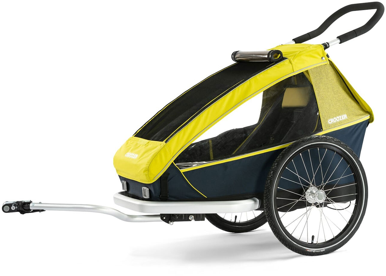 Croozer Kid For 1 Cykelanhænger, lemon green (2019) | bike_trailers_component