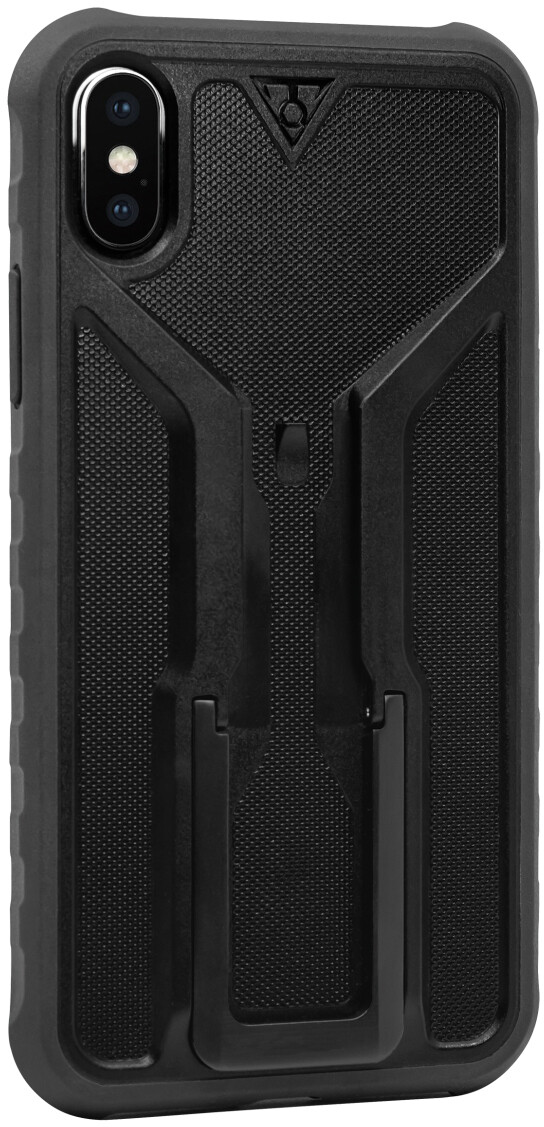 Topeak RideCase til iPhone X Etui med holder, black/grey | phone_mounts_component