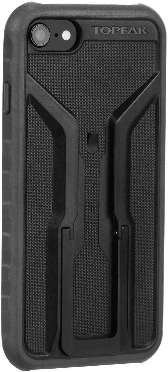 Topeak Ridecase til iPhone 6/6S/7/8 Etui med holder, black/grey | phone_mounts_component