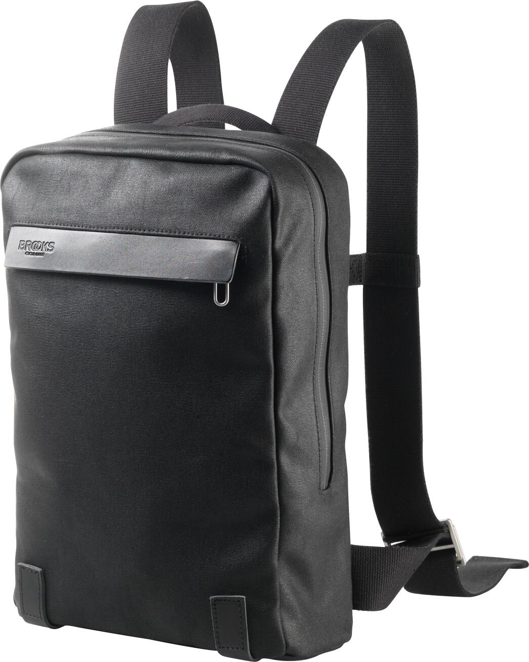 Brooks Pickzip Canvas Rygsæk small, total black (2019) | Travel bags