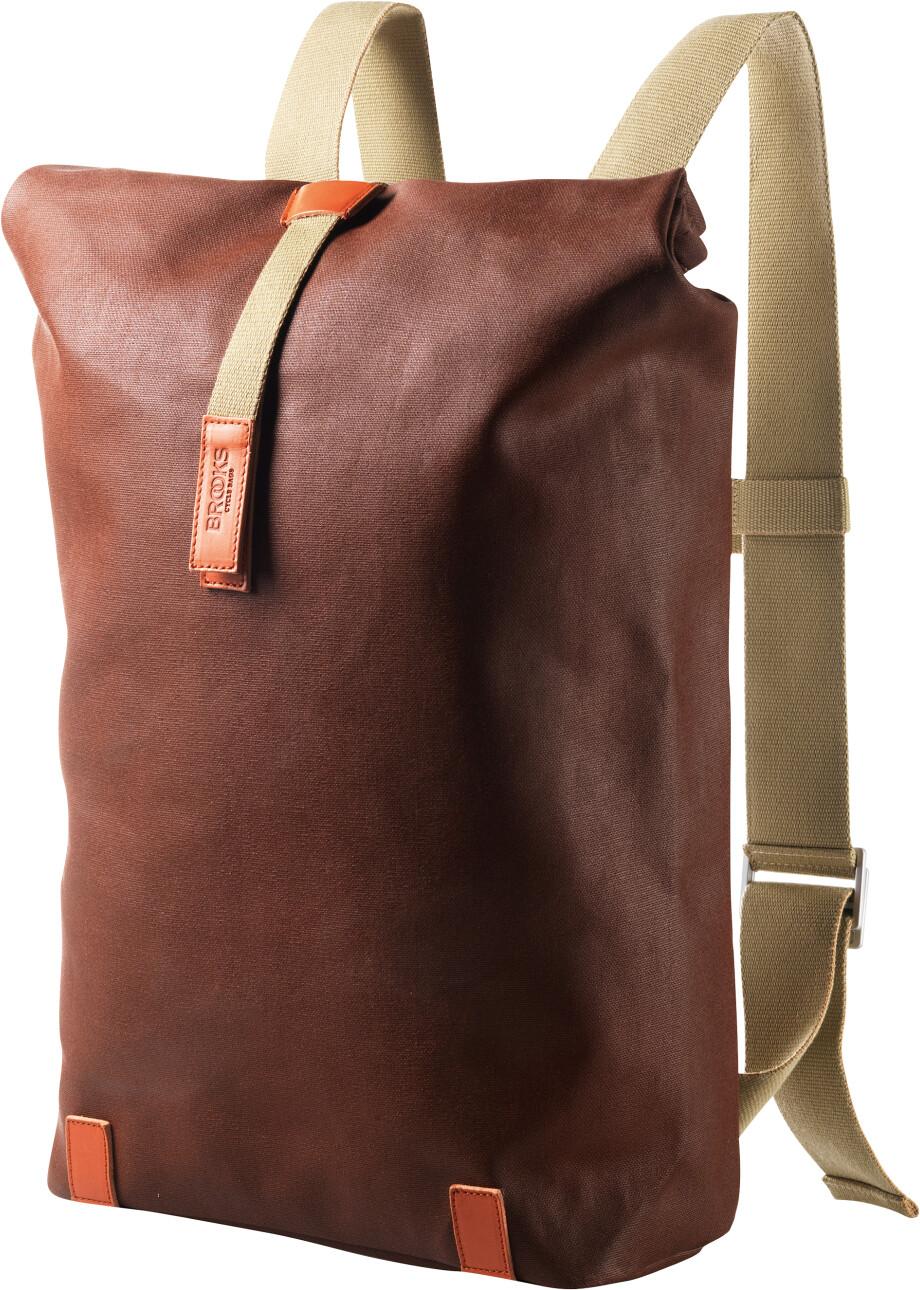 Brooks Pickwick Canvas Rygsæk small, rust/brick | Rygsæk og rejsetasker